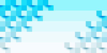 Blue geometry ocean background