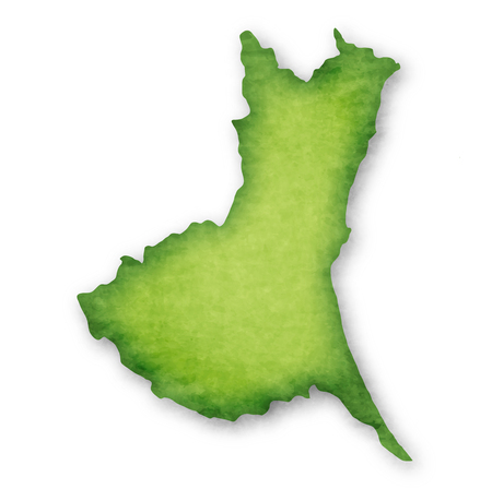 Ibaraki Prefecture Prefecture Japan map icon