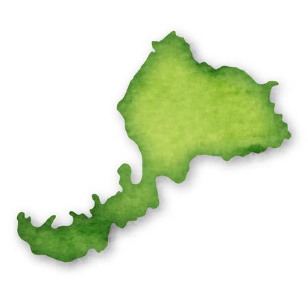 Fukui Prefecture Prefecture Japan map icon