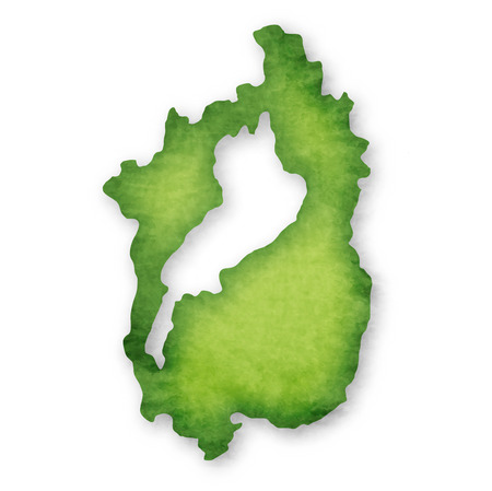 Shiga Prefecture Prefecture Japan map icon