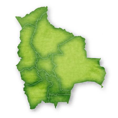 Bolivia Map Frame Icon