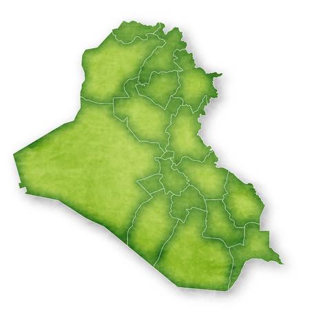 Iraq Map Frame Icon