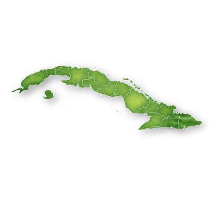 Cuba Map Frame Icon