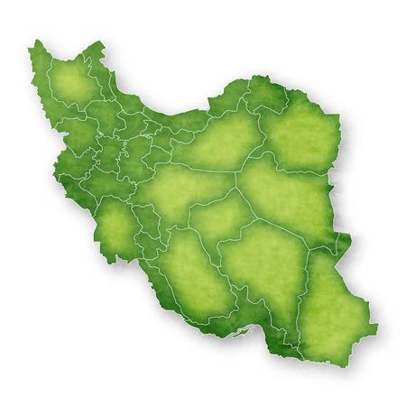 Iran Map Frame Icon