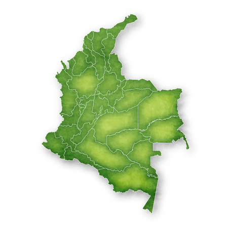Columbia Map Frame Icon 일러스트