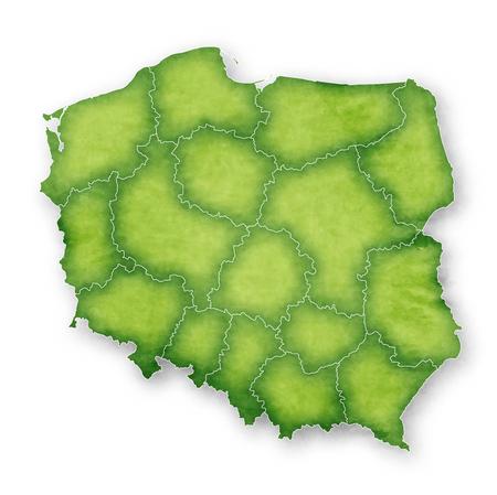 Ikona ramki mapy Polski