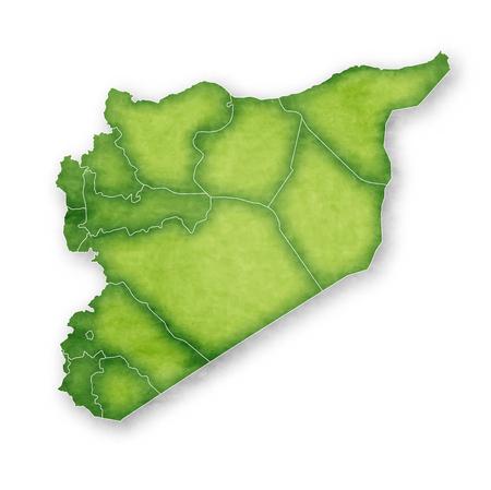 Syria Map Frame Icon