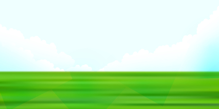 Fresh green grassland green background