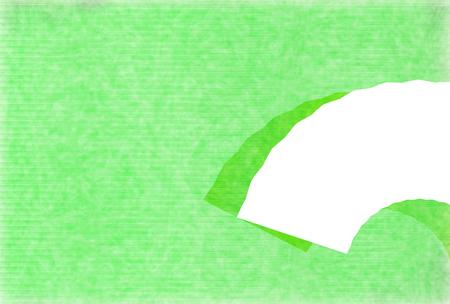 Fresh green Japanese paper Japanese pattern Background