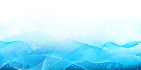Sky sea wave background