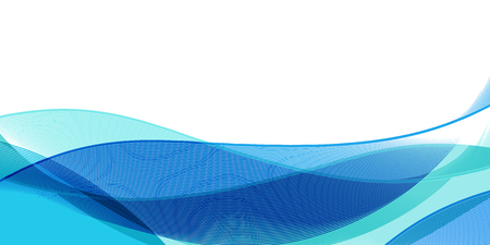 Water wave curve background