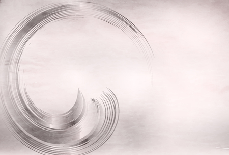 Swirl Silver Japanese Paper Background