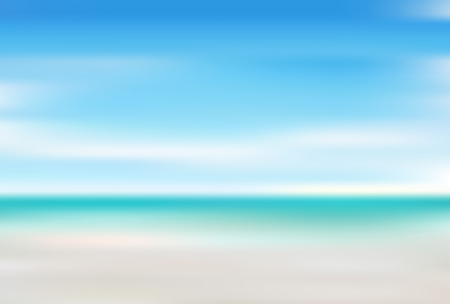 Sea summer landscape background
