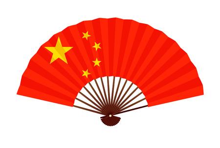 Ikona symbolu flagi narodowej Chin