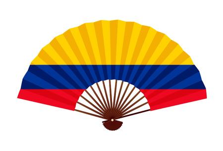Columbia National flag symbol icon