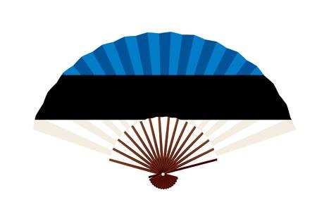 Estonia National flag symbol icon