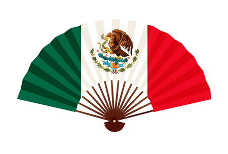 Mexico National flag symbol icon