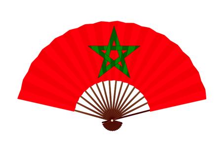 Morocco National flag symbol icon