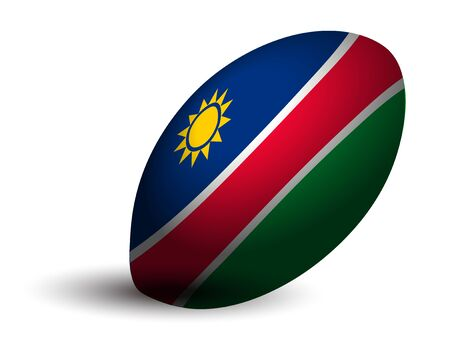 Namibia rugby ball icon