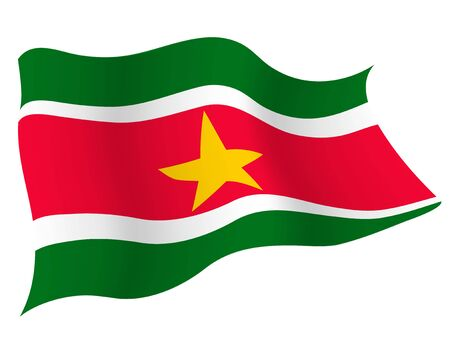 Country flag icon Suriname