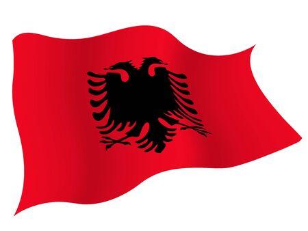 Albania country flag icon