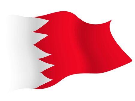 Icône de drapeau de pays Bahreïn Vecteurs