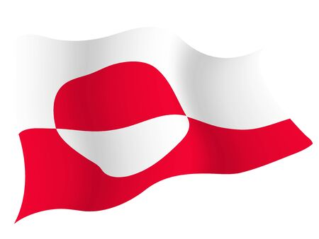 Country flag icon Greenland