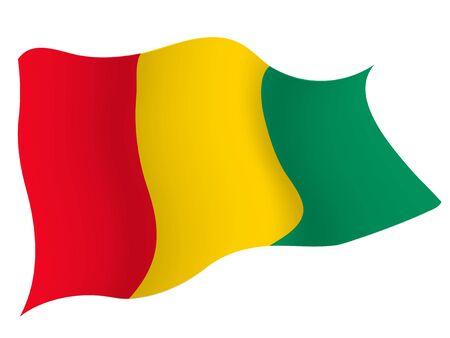 Icône de drapeau de pays Guinée