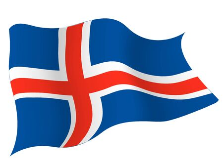 Country flag icon Iceland