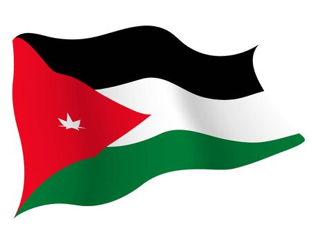 Country flag icon Jordan