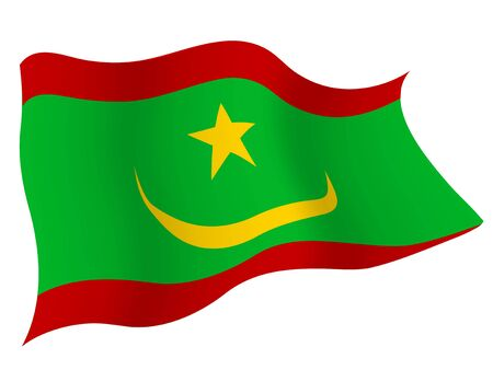 Country flag icon Mauritania