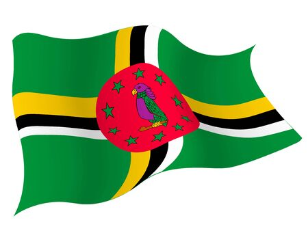 Country flag icon Dominica