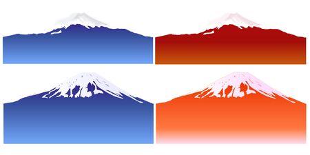 Mount Fuji Japan Mountain icon
