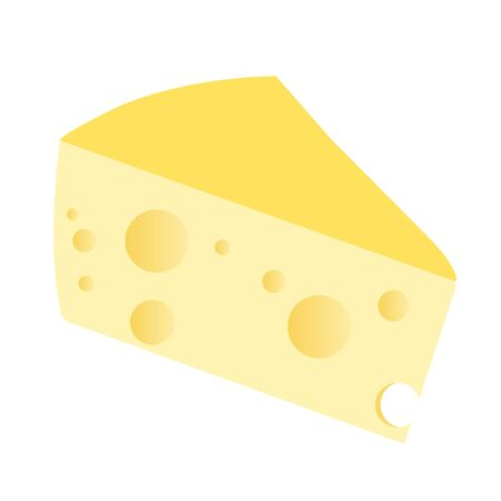 cheese Dairy products Food icon  イラスト・ベクター素材