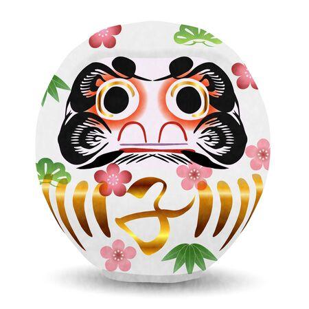 mouse New year's card Daruma icon