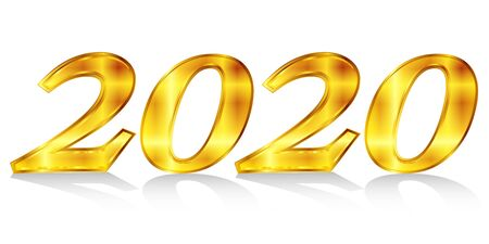 New year year number icon