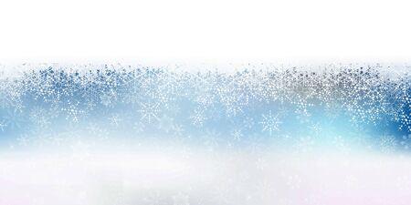 Snow Christmas Winter sky background