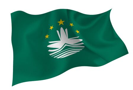 Macau national flag icon