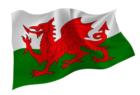 Welsh national flag icon