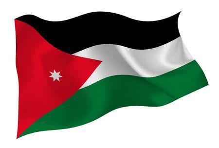 Jordan national flag icon