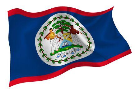 Belize national flag icon