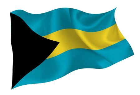 Bahamas national flag icon