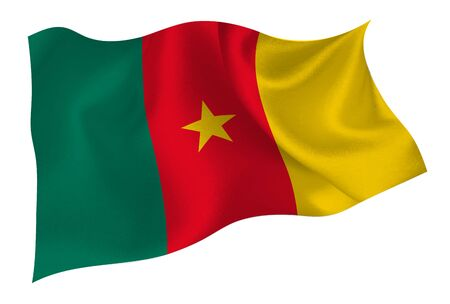 Cameroon national flag icon