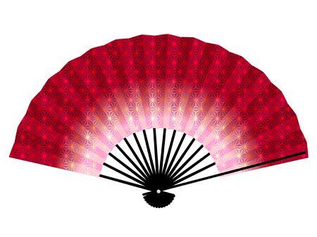 Folding Fan Spring Hemp Leaf Icon