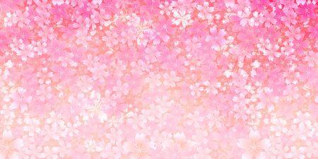 Fond de fleurs de printemps fleurs de cerisier