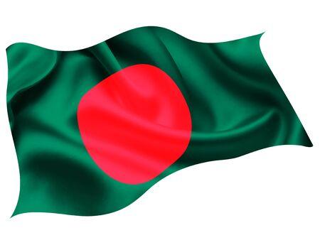 Bangladesh national flag world icon Vecteurs