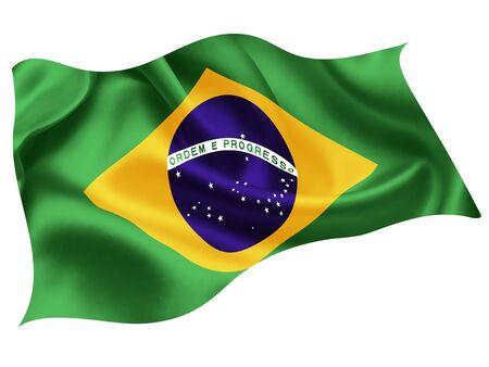 Brazil national flag world icon