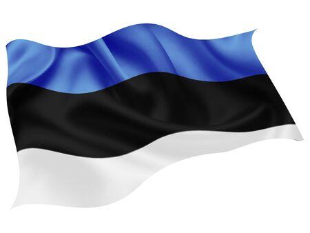 Estonia national flag world icon