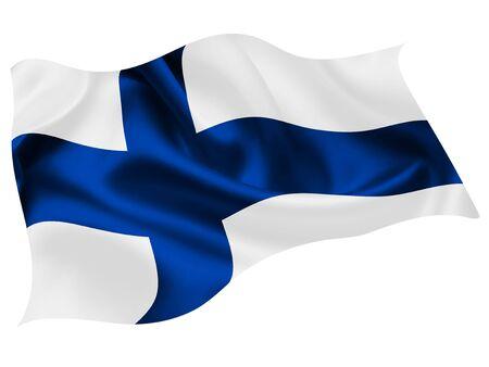 Finland national flag world icon