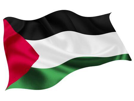 Palestine national flag world icon